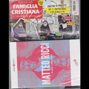Famiglia Cristiana + il libro Eretici o profeti - Matteo Ricci - Un gesuita ai confini del mondo - n. 49 - settimanale - 6 dicembre 2020 - rivista + libro