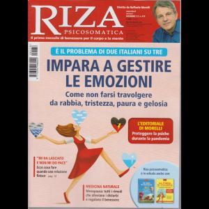 Riza Psicosomatica - Impara a gestire le emozioni - n. 478 - dicembre 2020 - mensile