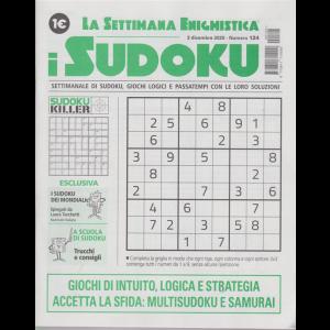 La settimana enigmistica - i sudoku - n. 124 - 3 dicembre 2020 - settimanale