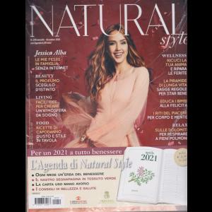 Natural Style +  Gadget - Agenda 2021 - con copertina rigida -  n. 210 - mensile - dicembre 2020