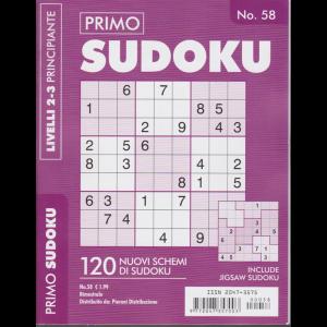 Primo Sudoku - n. 58 - bimestrale - livelli 2-3 principianti