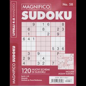 Magnifico Sudoku - n. 58 - bimestrale - livelli 4-5 avanzato -