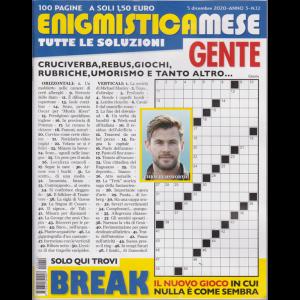Enigmistica Mese Gente - n. 12 - 5 dicembre 2020 - mensile - 100 pagine