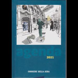 L'agenda del Corriere della Sera 2021 - con segnapagina - copertina rigida