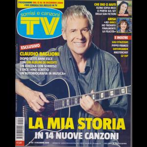 Sorrisi e Canzoni Tv - n. 49 - settimanale - 8 dicembre 2020