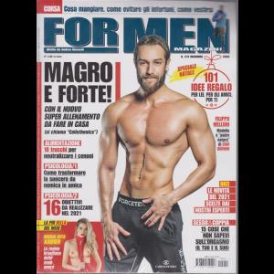 For Men Magazine - n. 214 - dicembre 2020 - mensile