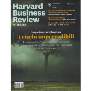 Harward Business Review Italia - n. 12 - dicembre 2020 - mensile