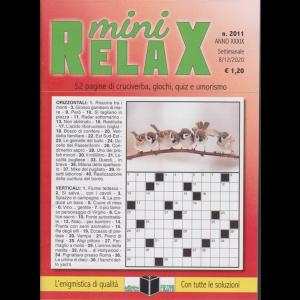 Mini Relax - n. 2011 - settimanale - 8/12/2020 -