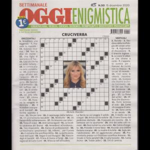 Settimanale Oggi Enigmistica - n. 50 - 15 dicembre 2020 -