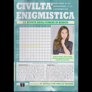 Civilta' Enigmistica - n. 433 - quindicinale - 15 dicembre 2020 -
