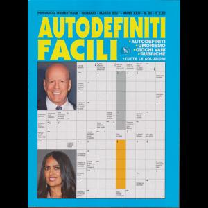 Autodefiniti Facili - n. 85 - trimestrale - gennaio - marzo 2021 -