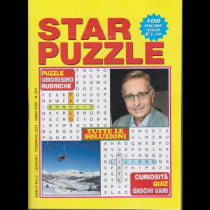 Star Puzzle - n. 311 - bimestrale - gennaio - febbraio 2021 - 100 pagine