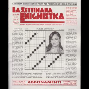 La Settimana Enigmistica - n. 4629 - 10/12/2020 - settimanale