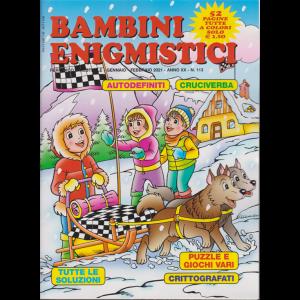 Bambini Enigmistici - n. 113 - bimestrale - gennaio - febbraio 2021 - 52 pagine tutte a colori