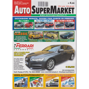 Auto Super Market - Dicembre-Gennaio 2021 - n. 12 -