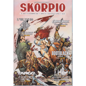 Skorpio - n. 2284 - 10 dicembre 2020 - settimanale di fumetti