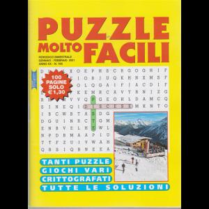 Puzzle molto facili - n. 100 - bimestrale - gennaio - febbraio 2021 - 100 pagine