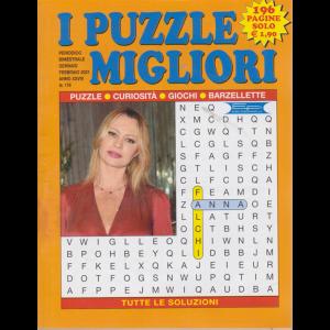 I puzzle migliori - n. 179 - bimestrale - gennaio - febbraio 2021 - 196 pagine