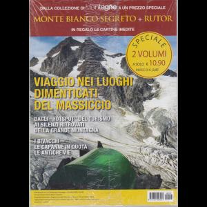 Dalla colezione di Meridiani Montagne - Monte Bianco segreto + Rutor - 2 volumi - n. 107 - dicembre 2020 - mensile