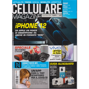 Cellulare Magazine - n. 8 - novembre 2020 - mensile -
