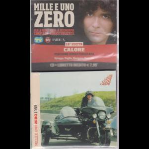CD musicali di Sorrisi n. 18 - settimanale - Mille e uno Zero - uscita n. 18 - Calore - cd + libretto