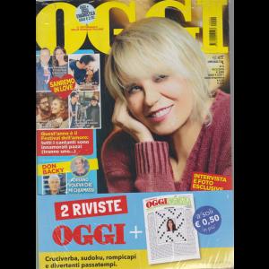 Oggi + Oggi enigmistica - n. 6 - 14/2/2019 - settimanale - 2 riviste