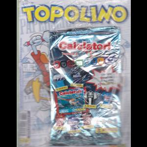 Topolino + 1 bustina di figurine Calciatori + 1 gommaglia! - n. 3310 - 1° maggio 2019 - settimanale