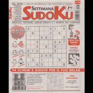 Settimana Sudoku - n. 716 - settimanale - 3 maggio 2019 -