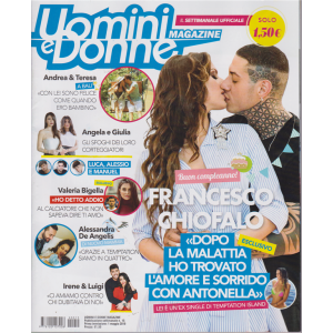 Uomini E Donne Magazine - n. 15 - 1 maggio 2019 - settimanale