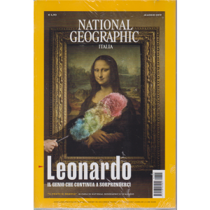 National Geographic - Leonardo il genio che continua a sorprenderci - n. 5 - maggio 2019 - mensile