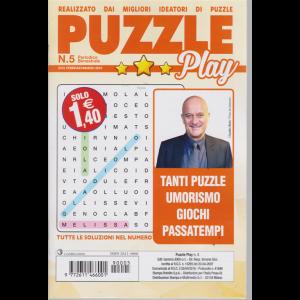 Puzzle Play - n. 5 - bimestrale - febbraio - marzo 2019 -