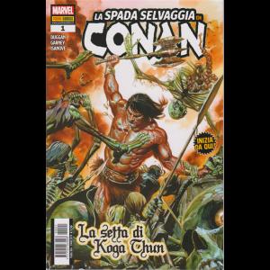 La Spada Selvaggia Di Conan - La setta di Koga Chun - n. 1 - bimestrale - 3 maggio 2019
