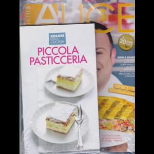 Alice Cucina  + il libro I colori della cucina . Piccola pasticceria - n. 5 - mensile - maggio 2019 - rivista + libro