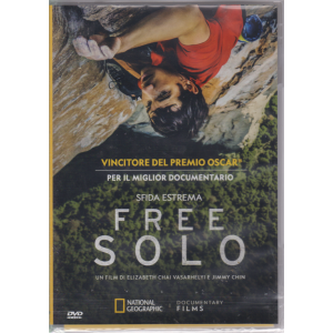 National Geographic - .Video - Sfida Estrema - Free Solo - n. 195 - 3/5/2019 - mensile