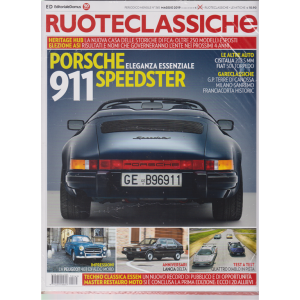 Ruoteclassiche Split + Le mitiche fuoriserie - n. 365 - mensile - maggio 2019 - 2 riviste