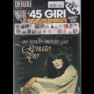 Saifam Music Deluxe  I 45 giri della tua vita - Renato Zero - Mi vendo / Morire qui - n. 3 - 7 maggio 2019 - bimestrale - rivista + 45 giri