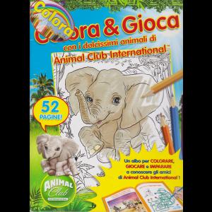 Colora & Gioca con i dolcissimi animali di Animal Club International - n. 27 - bimestrale - 52 pagine!