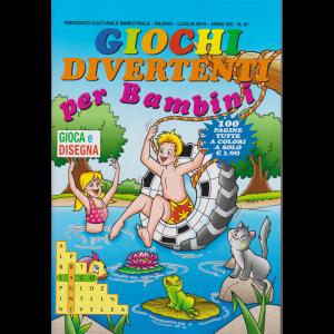 Giochi divertenti per bambini - n. 87 - bimestrale - giugno - luglio 2019 - 100 pagine tutte a colori