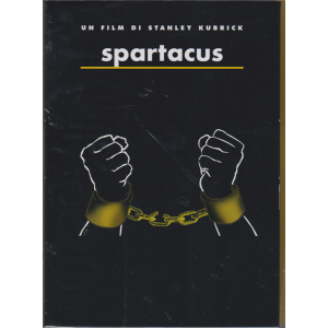 I Dvd Fiction Di Sorrisi n. 11 - Stanley Kubrick collection - Spartacus - 9° dvd - 7/5/2019 -