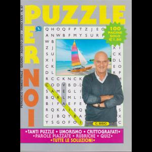 Puzzle Per Noi - n. 87 - trimestrale - giugno - agosto 2019 - 100 pagine