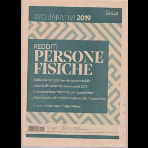 Dichiarativi 2019 - Redditi persone fisiche - maggio 2019 -