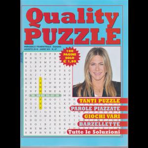 Quality Puzzle - n. 47 - trimestrale - giugno - agosto 2019 - 100 pagine