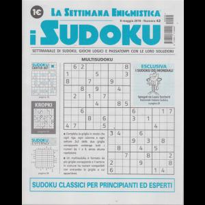 La settimana enigmistica - I sudoku - n. 42 - 9 maggio 2019 - settimanale