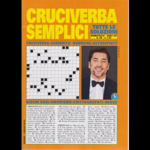 Cruciverba Semplici - n. 88 - bimestrale - giugno - luglio 2019 -