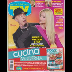Sorrisi e Canzoni tv + Cucina moderna - n. 18 - 7 maggio 2019 - settimanale - 2 riviste