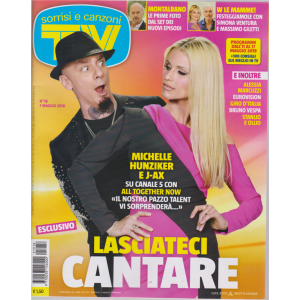 Sorrisi E Canzoni Tv - n. 18 - 7 maggio 2019 - settimanale