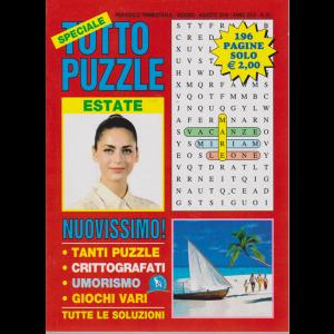 Speciale Tutto Puzzle estate - n. 91 - trimestrale - giugno - agosto 2019 - 196 pagine