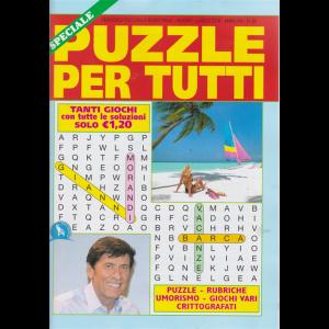 Speciale Puzzle Per tutti - n. 92 - bimestrale - giugno - luglio 2019 -