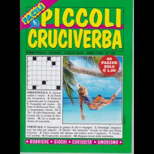 Piccoli Cruciverba facili - n. 133 - bimestrale - giugno - luglio 2019 - 68 pagine -
