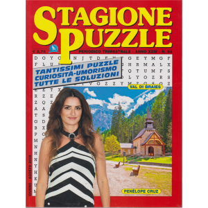 Stagione Puzzle - n. 94 - trimestrale - giugno - agosto 2019 -